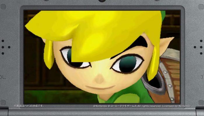 Hyrule Warriors Legends – Japanese Toon Link Trailer