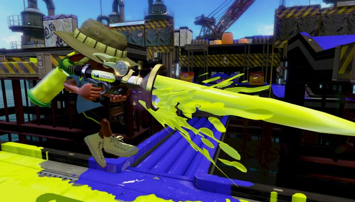 New weapon Neo Sploosh-o-matic now available in Splatoon
