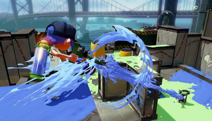 New weapon Bamboozler 14 Mk II now available in Splatoon