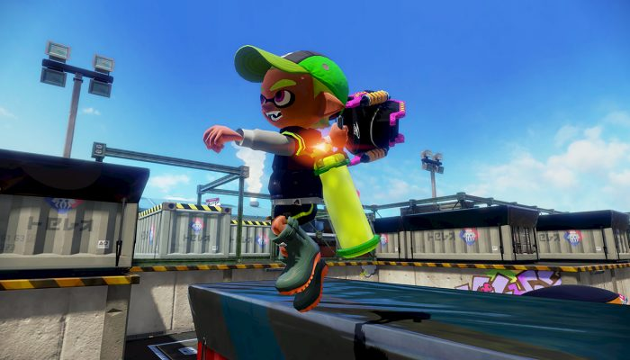 New weapon Slosher Deco now available in Splatoon