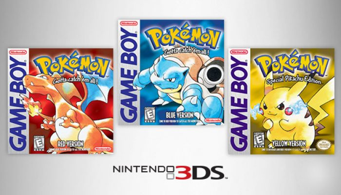 Pokémon: 'Classic Pokémon Games Return on Virtual Console!'