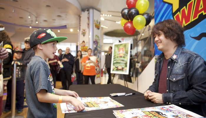 Pictures from the Yo-kai Watch Launch Event at Nintendo World Store