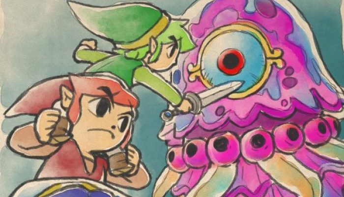 """Eiji Aonuma introduces """"hero points"""" in The Legend of Zelda Tri Force Heroes on Miiverse"""