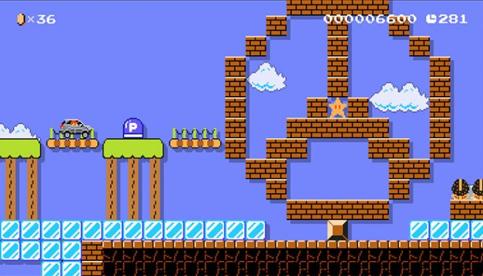 NoA: 'Super Mario Maker revs up with free new content created by Mercedes-Benz'