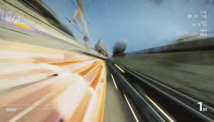 FAST Racing Neo – Vidéo du gameplay