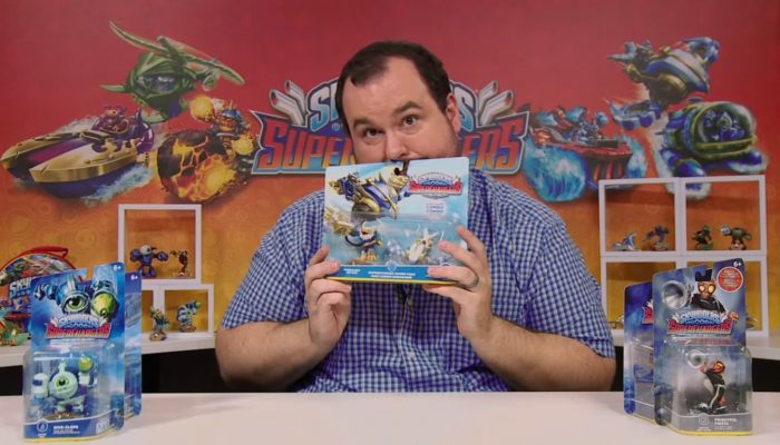 Skylanders SuperChargers – Sea Shadow, Jet Stream & More Unboxings