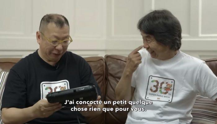 Super Mario Maker – Jouons avec M. Tezuka & M. Miyamoto