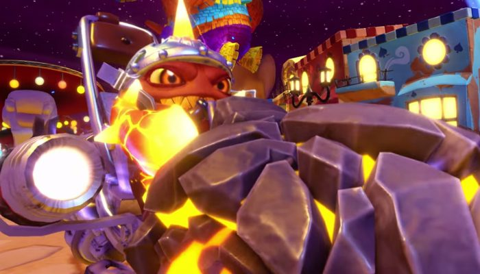 Skylanders SuperChargers – Meet Eruptor and the Burn Cycle