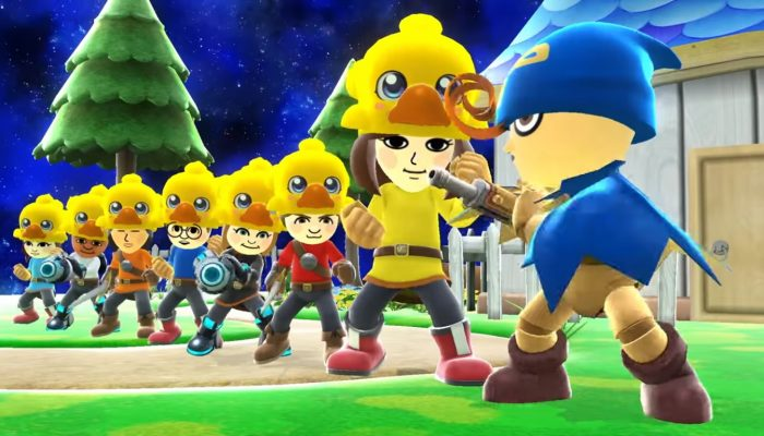 Super Smash Bros. for Wii U / Nintendo 3DS – Mii Fighters Suit Up for Wave Five Trailer