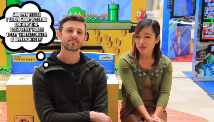 Nintendo Minute – Comment Time (at the 2015 Nintendo Holiday Mall Experience)