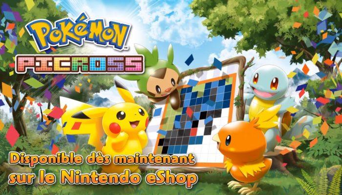 Pokémon Picross – Bande-annonce de lancement