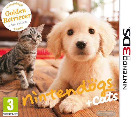 Nintendo 3DS nintendogs plus cats