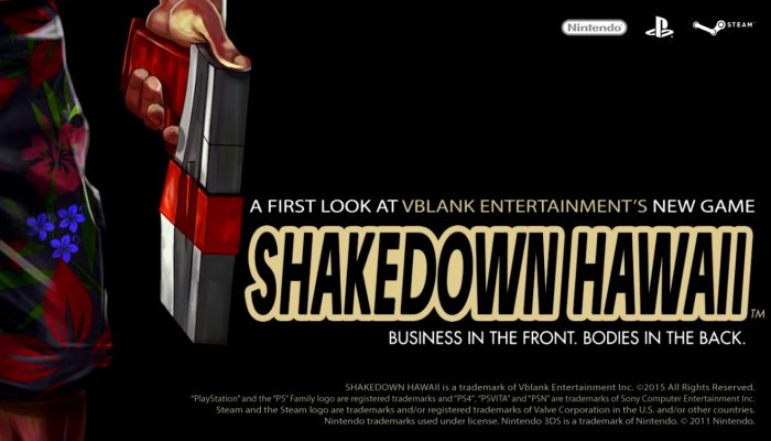 Shakedown Hawaii – Announcement Teaser Trailer