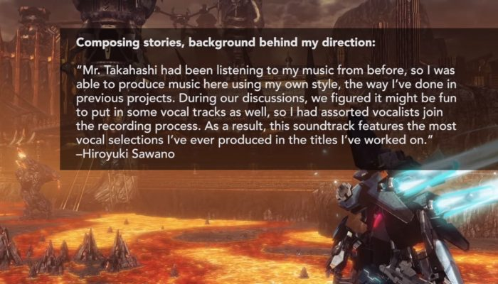 Xenoblade Chronicles X – Music Selection from Nintendo of America with Details from Hiroyuki Sawano