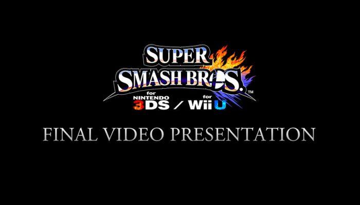 NoE: 'Join us for the Super Smash Bros. for Nintendo 3DS & Wii U Final Video Presentation on 15th December!'