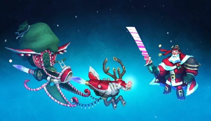 Skylanders SuperChargers – Let's SuperCharge Santa's Sleigh!