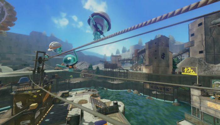 Splatoon – New Stage Squid Dance Trailer (Piranha Pit & Ancho-V Games)
