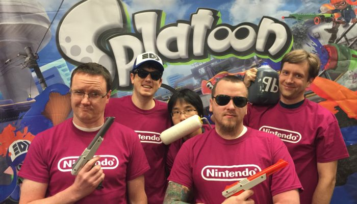 Splatoon – The Six Teams from the Treehouse Splatournament