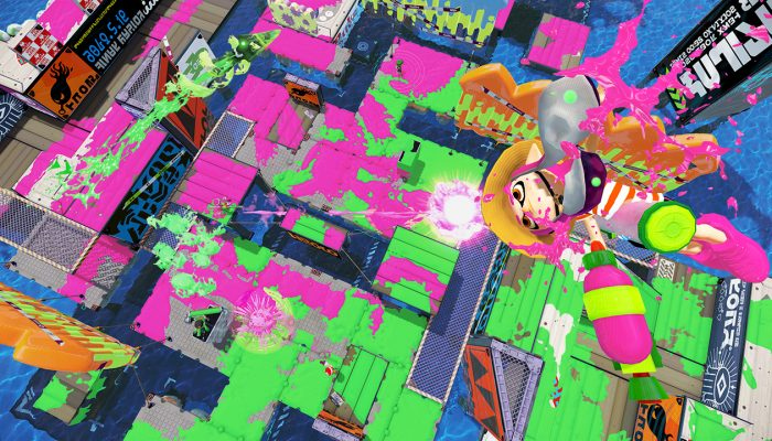 New map Mahi Mahi Resort now available in Splatoon