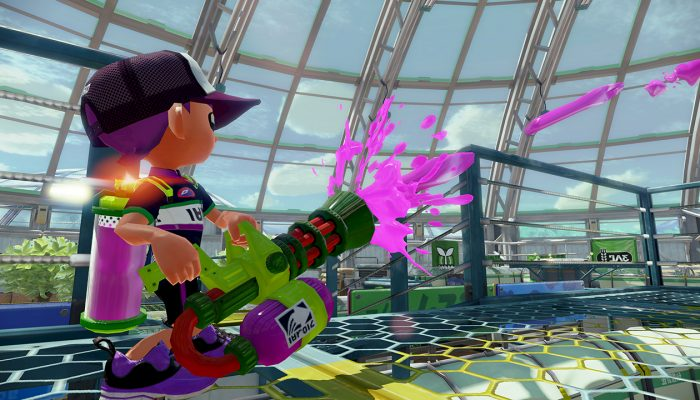 New weapon Zink Mini Splatling available in Splatoon
