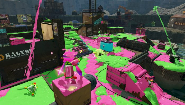 New map Piranha Pit available in Splatoon