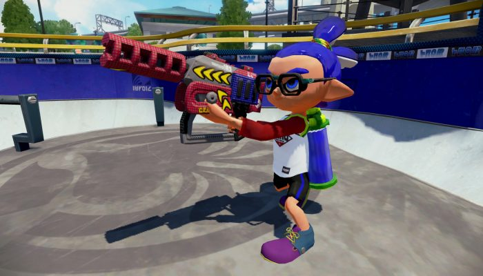 New weapon Rapid Blaster Pro Deco now available in Splatoon