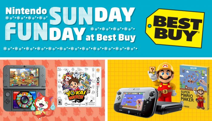 NoA: 'Nintendo Sunday Funday demo event at Best Buy on 12/13'