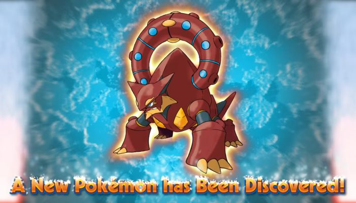 Pokémon ORAS – Meet the Steam Pokémon Volcanion! Trailer