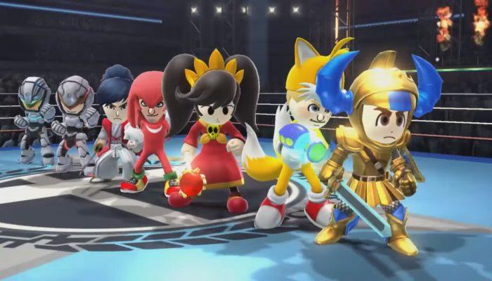 Super Smash Bros. for Wii U / Nintendo 3DS – Bande-annonce Les combattants Mii se préparent pour la sixième vague !
