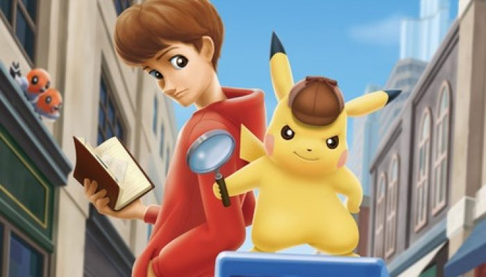 A Pokémon Preview via Gematsu: 'Great Detective Pikachu announced for 3DS'