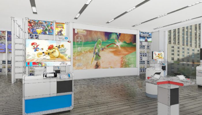 NoA: 'Nintendo Store in Rockefeller Plaza Gets a Massive Makeover'