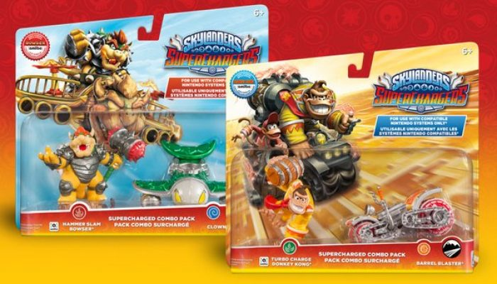Hammer Slam Bowser & Turbo Charge Donkey Kong available as standalone combo packs
