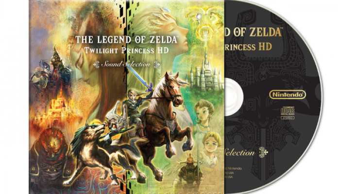 Twilight Princess HD exclusive CD available via pre-order at Gamestop
