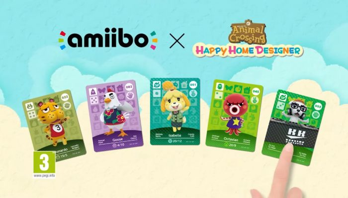 Animal Crossing : Happy Home Designer – Publicité Cartes amiibo