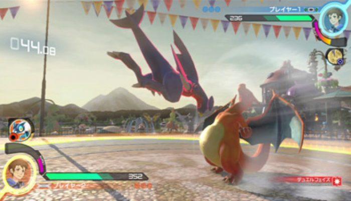 Pokkén Tournament – Japanese Garchomp and Braixen Reveal Screenshots