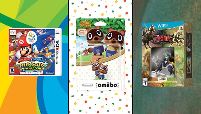 NoA: 'Nintendo brings new amiibo figures and functionality to games in early 2016'