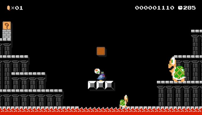 Super Mario Maker – Japanese Yamamura Costume Footage