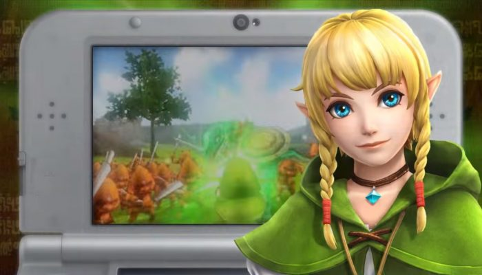 Hyrule Warriors Legends – First Japanese Commercials