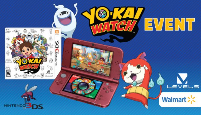 NoA: 'Yo-kai Watch event at Walmart on 2/6'