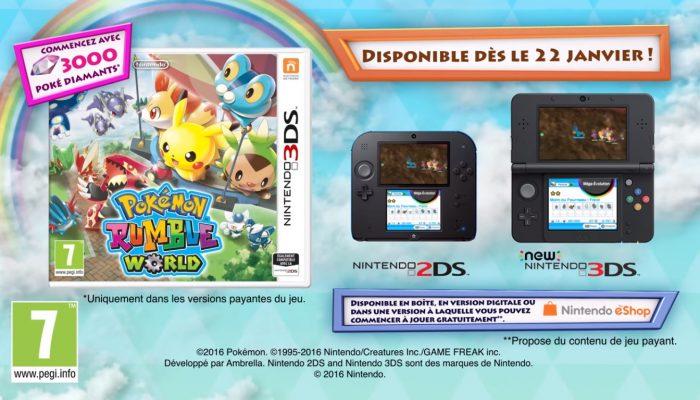 Pokémon Rumble World – Bande-annonce de lancement (de la version boîte du jeu)