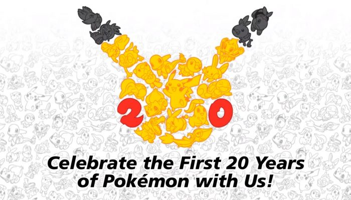 #Pokemon20: Celebrate 20 Years of Pokémon!