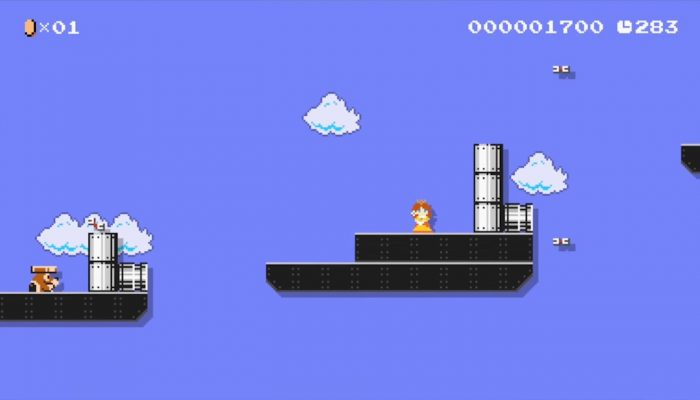 Super Mario Maker – Japanese Daisy Costume Footage