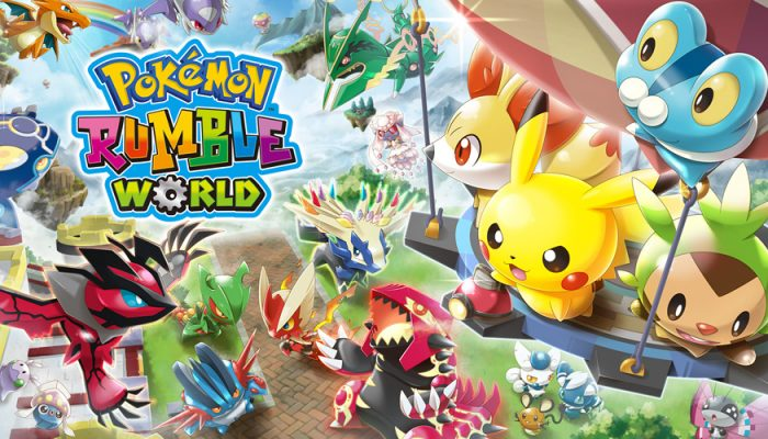 NoE: 'In shops and on Nintendo eShop now: Pokémon Rumble World'