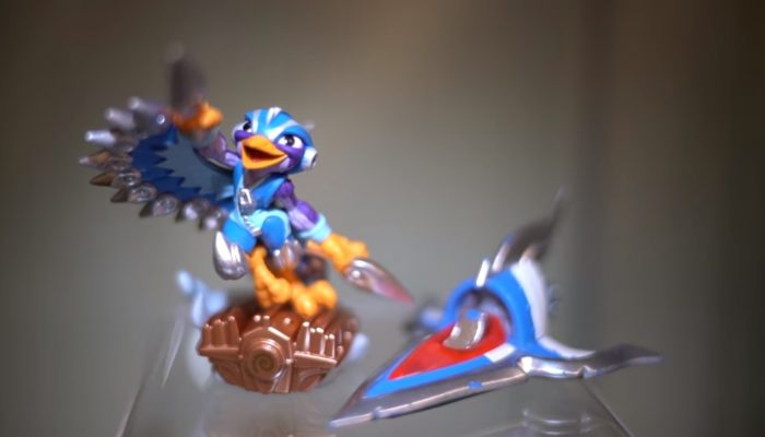 Skylanders SuperChargers – Meet Stormblade and the Sky Slicer