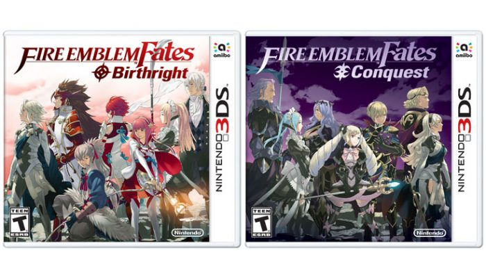 NoA: 'Choose your fate in Fire Emblem Fates for Nintendo 3DS'