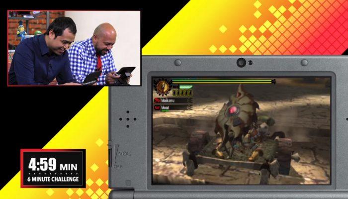 Nintendo Challenge: Monster Hunter 4 Ultimate