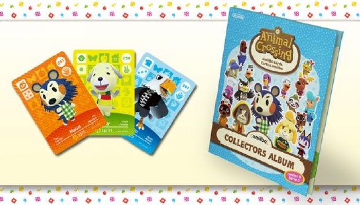 Series 3 Animal Crossing amiibo cards launching in Europe on March 18