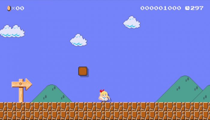 Super Mario Maker – Japanese Nisekoi Costume Footage