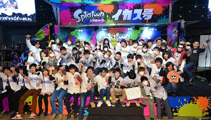 Pictures from Splatoon at Nico Nico Tokaigi 2016