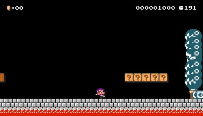 Super Mario Maker – Barbara the Bat Footage